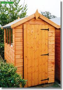 10x6 shed bramley apex total cost includes delivery and erection - Garden Sheds 6x4