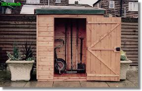 Garden shed climbing wall tool shed printing patterns for Garden room 5x3